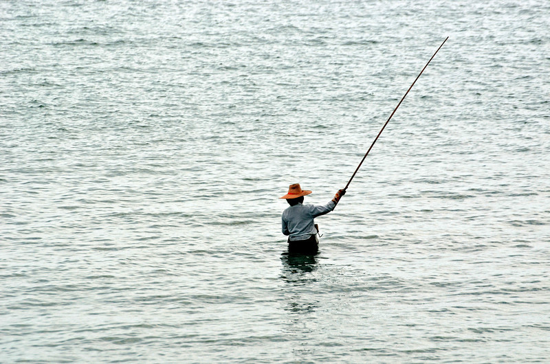 Fisker ved Koh Yao