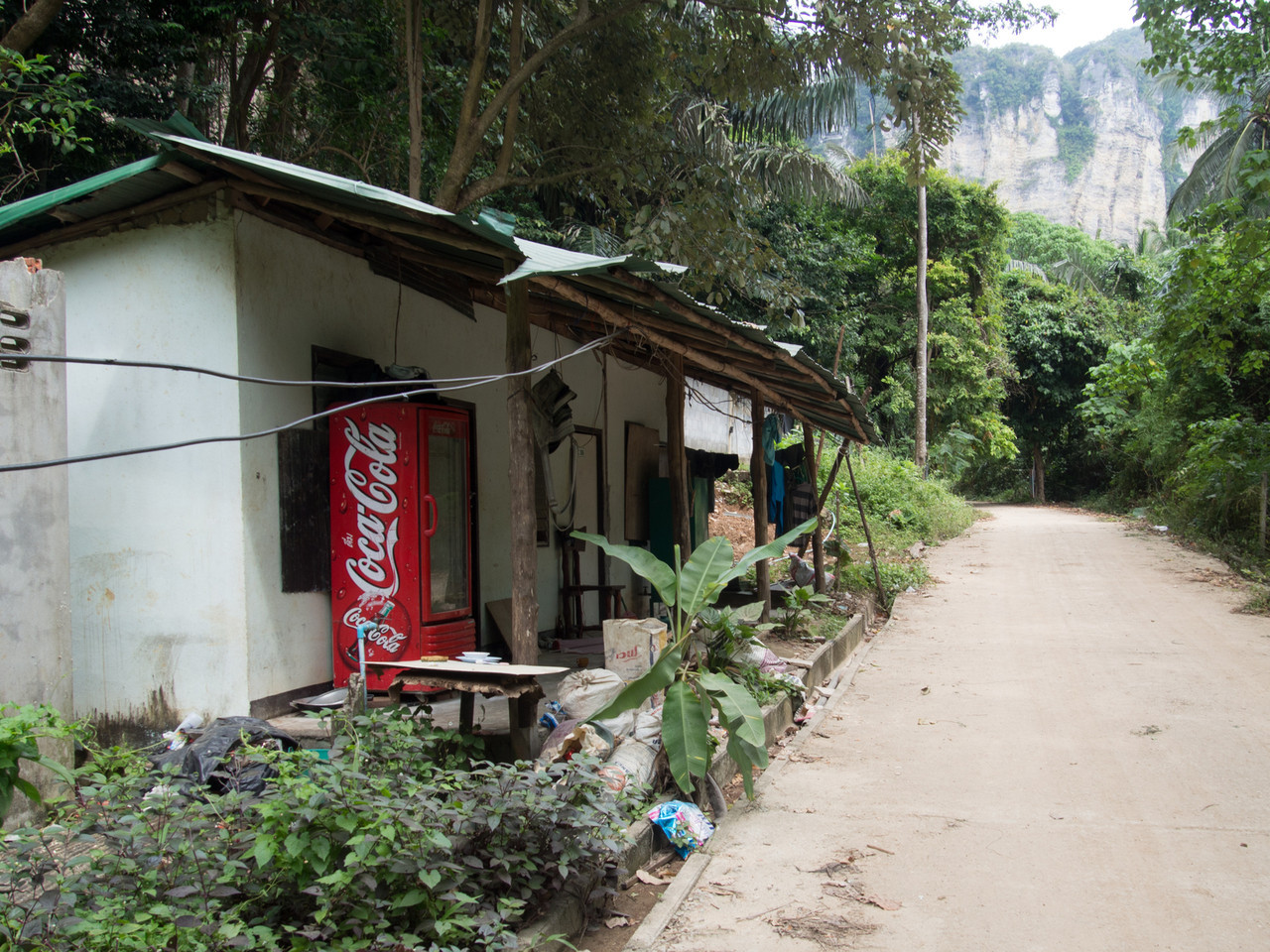 One of the more inexpensive lodgings on Tonsai