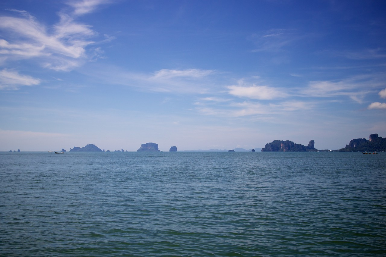 View from the ferry, more amazing islands.
