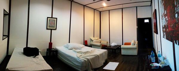 Our hotel room on Ko Lanta