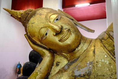 Wat Thammikarat - Ayutthaya, Thailand.