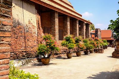 """Wat Pakaew"". Wat Yai Chai Mongkon - Ayutthaya, Thailand."