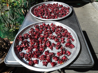 Dried Hibiscus (Roselle), for Hibiscus Flower Tea.