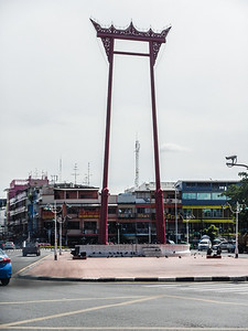 Giant Swing - the original built in 1784 was replaced in 2004 - Bangkok.