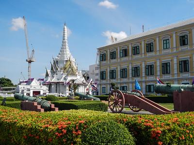 The City Pillar Shrine - 1782, Bangkok.