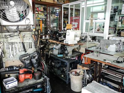Sewing Machine shop.