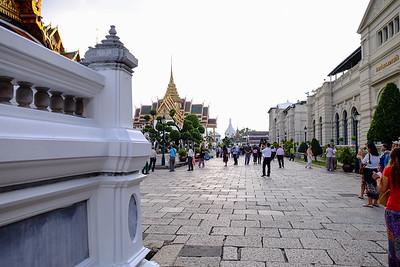 Plaza walkway.