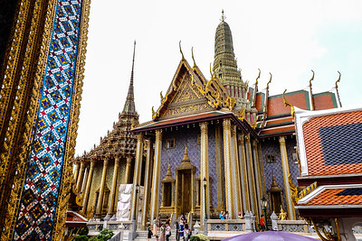 Temple of the Emerald Buddha.