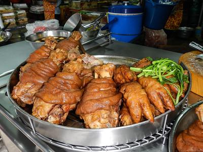 Deep fried pigs feet.