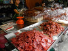 Dried sliced meats.