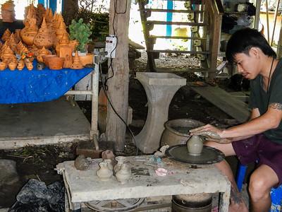 Pottery making 101.