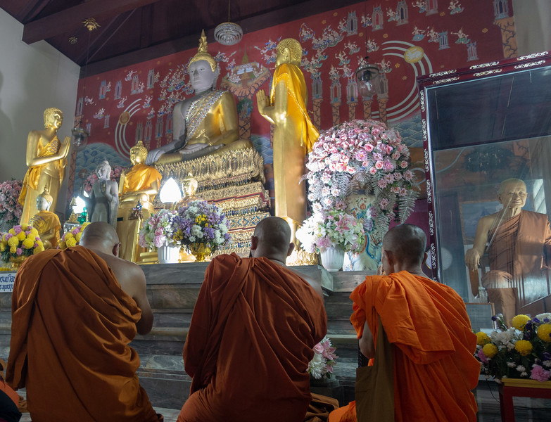 Monks and wax monk