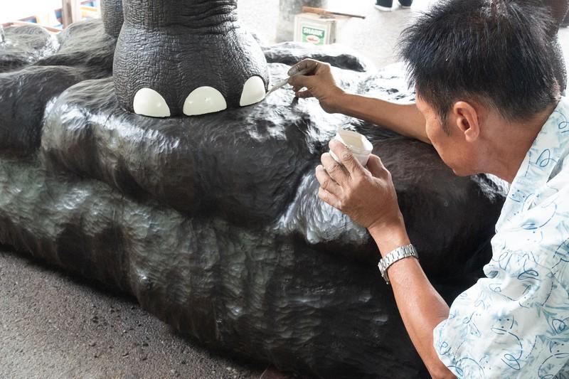 Elephant nail polish