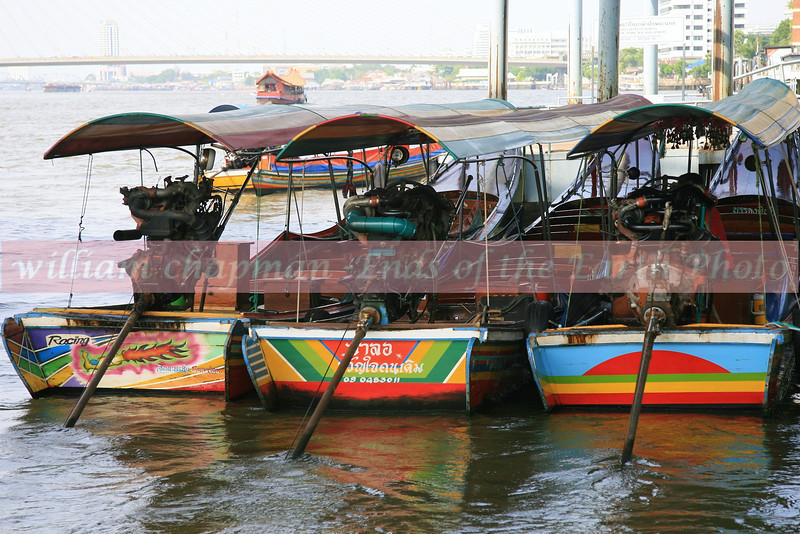 Long Tail Boats- Thailand- Bangkok