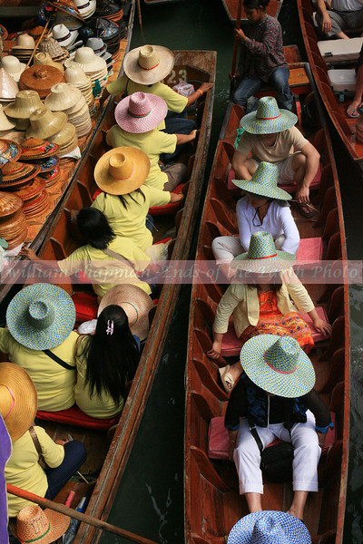 North of Bangkok- daily floating market