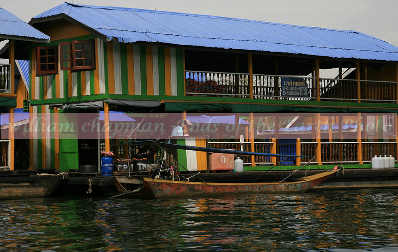 Houseboat on Kwai River- Thailand 3