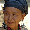 Elderly Hill Tribe Woman, Maehongson Thailand