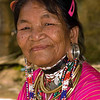 Kayaw Hill Tribe Grandmother, Maehongson Thailand