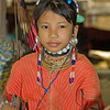 Young Kayaw Hill Tribe Girl, Maehongson Thailand