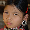 Kayaw Hill Tribe Young Girl, Maehongson Thailand