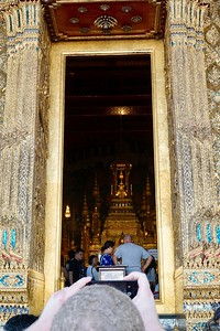 No photography was allowed while inside Wat Phra Kaew, which is considered the most sacred temple in Thailand.
