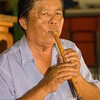 Music Teacher Playing Khlui, Chiang Mai, Thailand
