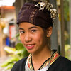 Young Woman Dancer in Traditional Clothing, Chiang Mai, Thailand