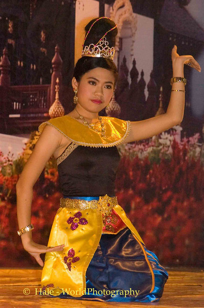 Anusan Night Bazaar Dancer, Chiang Mai, Thailand