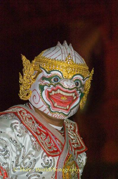 Khantoke Restaurant Show Dancer - Hanuman The Monkey General, Chiang Mai, Thailand