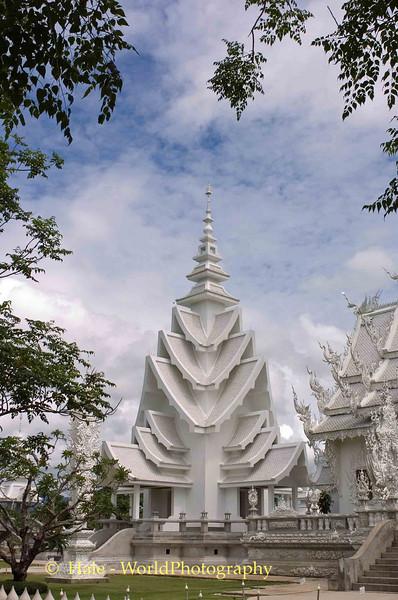 Wat Rong Khun, Pa-or-donchai Chiang Rai Thailand