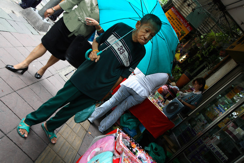 Man on Silom Road (Bangkok)
