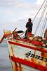 Docking the boat (Hua Hin)