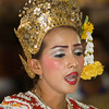 Lakhon Chatri Dancer Chanting at Wat Sothon, Chachoengsao Thailand