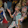 Lakhon Chatri Dancers Performing at Wat Sothon, Chachoengsao Thailand