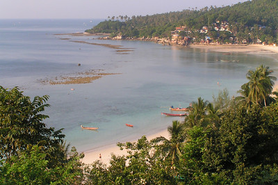 Haad Yao. This beach was just north of Chao Phao. Its the most popular beach on the west coast