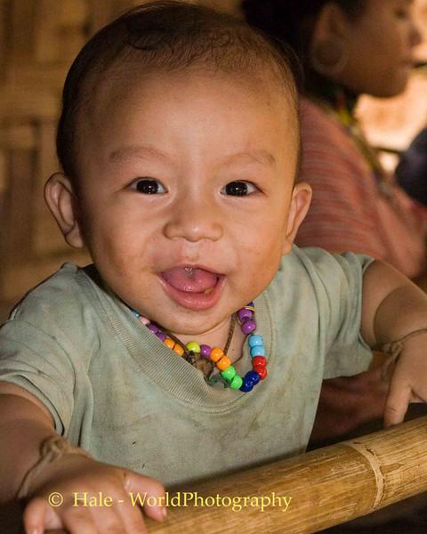 Happy Toddler, Huaysuatao Refugee Camp, Maehongson, Thailand