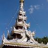 Shan(Thai Yai) Wat Architecture, Maehongson, Thailand