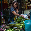 People of Thailand. Street market.