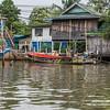Fishing Village in the Gulf of Thailand.  Samut Songkhram, Thailand