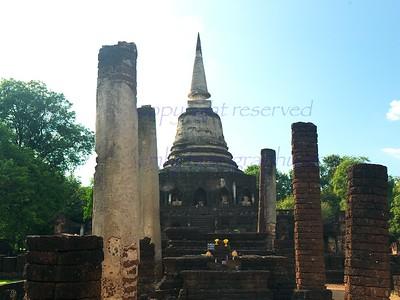 Thailand  Sukhotai Si Satchanalai World Heritage site