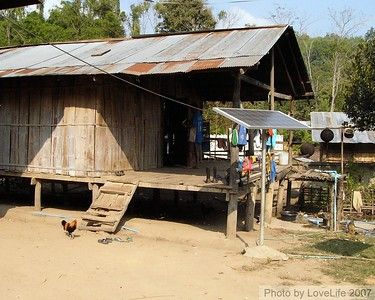 Lahu  village home