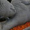 Resting Buddha in Bali, Indonesia.