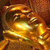 Wat Pho's Reclining Buddha is Thailand's largest.