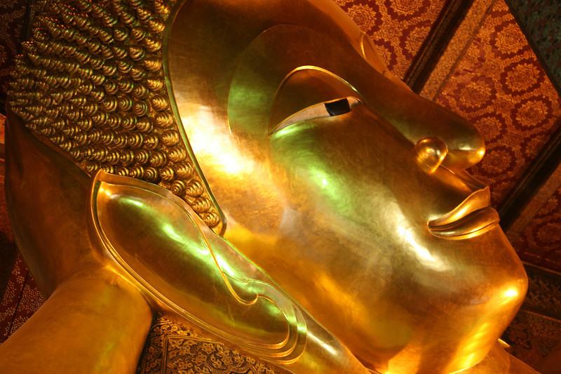 1788 Wat Pho is next door to the Royal Palace in Bangkok.