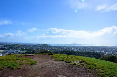 Rangitoto Island from One Tree Hill