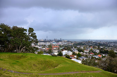 Auckland City from Mount Dobson