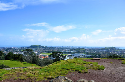 Auckland City from One Tree Hill