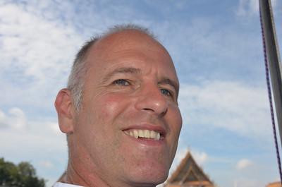 Brian Chao Phraya River trip to Wat Arun Bangkok