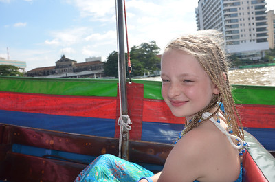 Meg Chao Phraya River trip to Wat Arun Bangkok