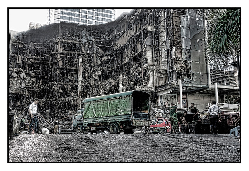 Central World after fire